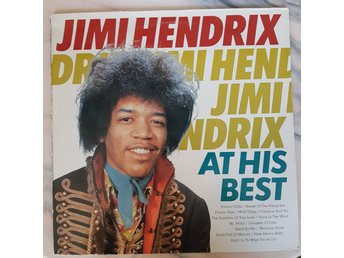 Jimi Hendrix LP. At His Best. Fr 1987. Nr 15714. STEREO.