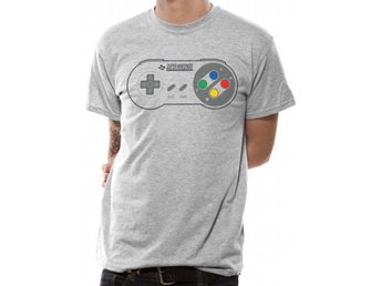 Nintendo - Snes Controller Pad  T-Shirt Medium