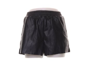 Shorts, Strl: XS, Svart, Skinnimitation