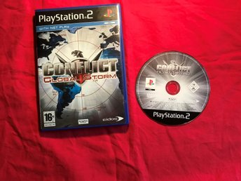 CONFLICT GLOBAL STORM PS2 PLAYSTATION 2 FINT SKICK