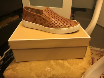 Michael Kors Olivia slip-on sneakers peanut