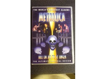 METALLICA  KILL EM ALL TO ST ANGER  DVD  UTGÅTT