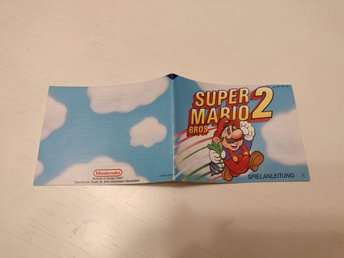 Manual till Super Mario Bros. 2 - NES - NOE