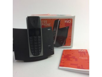 INO, Hemtelefon, Wireless dect phone, Svart