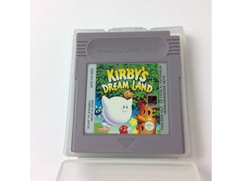 Nintendo Gameboy, Gameboy spel, Kirby's Dream Land