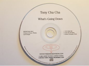 "TONY CHA CHA ""WHAT´S GOING DOWN""   PROMO"