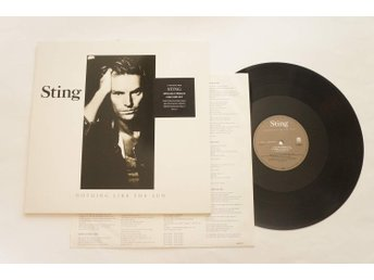 ** Sting ‎– ...Nothing Like The Sun **