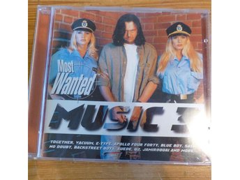 Most Wanted Music 3 cd (1997)