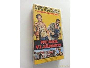 VHS-REA Nu ger vi Järnet (Terence Hill, Bud Spencer!) All the way boys - Norrsundet - VHS-REA Nu ger vi Järnet (Terence Hill, Bud Spencer!) All the way boys - Norrsundet