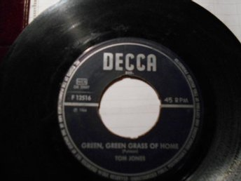 Tom Jones EP Green, Green Grass of Home utgiven 1966