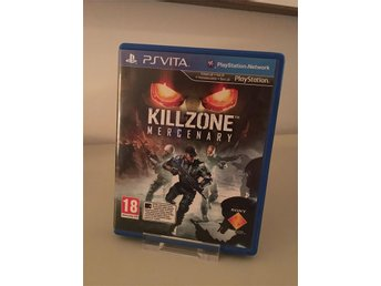 Killzone Mercenary  - Komplett - Fint skick - PS Vita