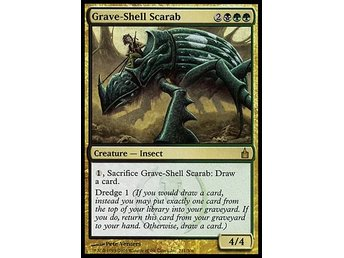 Magic The Gathering Grave-Shell scarab