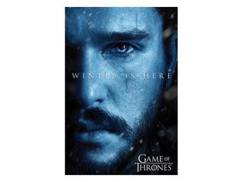 Game Of Thrones Affisch Jon Snow 227