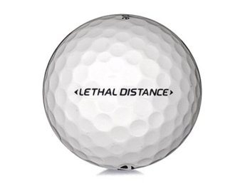 50 st Taylormade Lethal Distance (Bra skick)