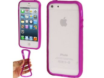 iPhone 5/5S TPU Bumper Lila