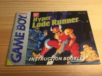 Hyper Load Runner manual (SCN) Gameboy Game Boy