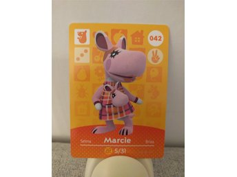 Animal Crossing Amiibo Welcome Amiibo card nr 042 Marcie