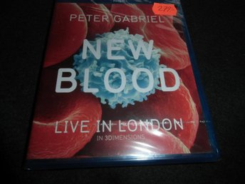 Peter Gabriel - New blood: Live in London - Blu-ray 3D- 2011