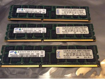 24 GB DDR3 Ram minne (3 X 8gb = 24 gb )