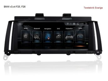 Bilstereo BMW X3, X4 Series F25, F26 Android multimedia