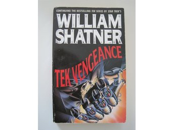 TEK VENGEANCE BOK (TEK WAR) - WILLIAM SHATNER