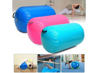 85x100CM Fitness Inflatable Air Roller Home Small Gymnast...