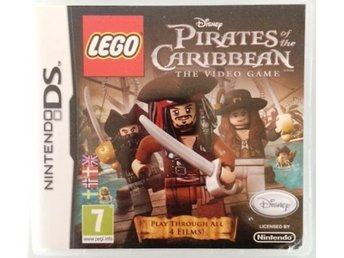 LEGO PIRATES OF THE CARIBBEAN spel Nintendo DS