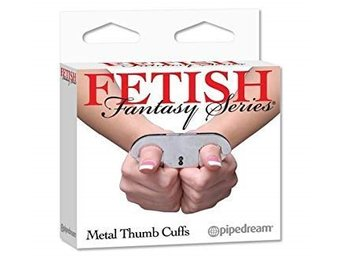 Fetish Fantasy Metal Thumb cuffs