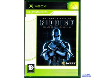 THE CHRONICLES OF RIDDICK ESCAPE FROM BUTCHER BAY XBOX CLASSICS