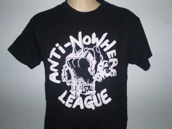 ANTI-NOWHERE LEAGUE (XL) T-Shirt (Oi! Punk, Skinheads, Exploited, Metallica, - Falkenberg - ANTI-NOWHERE LEAGUE (XL) T-Shirt (Oi! Punk, Skinheads, Exploited, Metallica, - Falkenberg