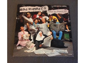 "BAD MANNERS - What The Papers Say (12"" Remix)"