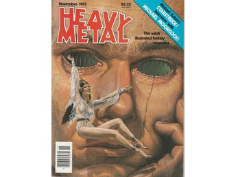 HEAVY METAL ADULT FANTASY MAGAZINE NOVEMBER 1982