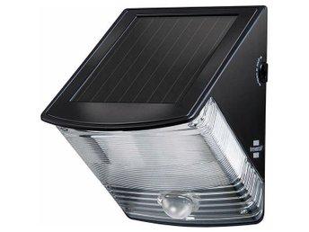 Brennenstuhl SOL 04 Plus, vägglampa för utomhusbruk, solcell, 85lm, sv - Höganäs - Brennenstuhl SOL 04 Plus, vägglampa för utomhusbruk, solcell, 85lm, sv - Höganäs