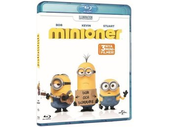 Minioner (Blu-ray) - Svenskt omslag Helt ny och inplastad! - Järfälla - Minioner (Blu-ray) - Svenskt omslag Helt ny och inplastad! - Järfälla