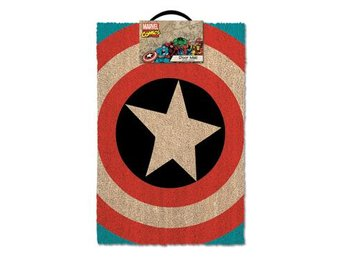 Captain America Dörrmatta Shield