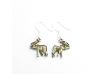 Älg örhängen / Moose earrings