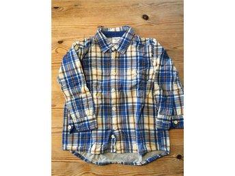 POP Fodrad skjorta stl 86 Polarn och Pyret - Hjärnarp - POP Fodrad skjorta stl 86 Polarn och Pyret - Hjärnarp