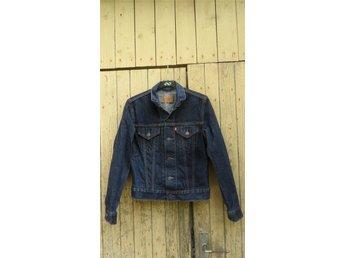 Levis jeansjacka blå mörkblå jeans jacka Levis For Girls - Rome - Levis jeansjacka blå mörkblå jeans jacka Levis For Girls - Rome