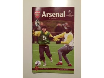 Program: Arsenal mot Juventus - 28 mars 2006