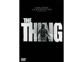 The Thing (Joel Edgerton) 2011  - DVD INPLASTAD