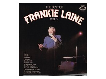 FRANKIE LAINE - The Best of Frankie Laine Vol. 2 - LP