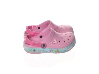 Crocs, crocs, Strl: 33-34, Hello Kitty, Rosa