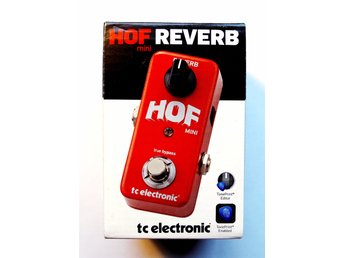 Reverb effektpedal Tc Electronic Hall of Fame Mini Reverb