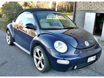 03 VW New Beetle Cabriolet i toppskick