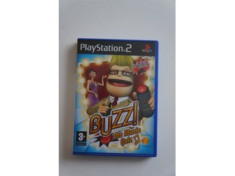 Buzz The Music Quiz - Sony Playstation 2 - PS2 - Svensk Version - Komplett