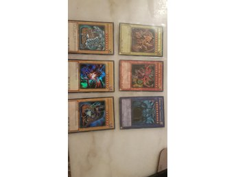 Yu-Gi-Oh Legendary Collection Kort Gudakort Mint skick