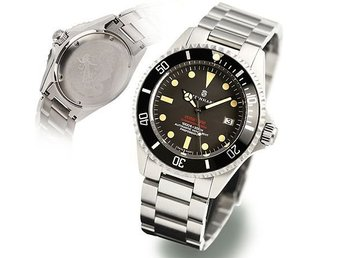 "Steinhart OCEAN One VINTAGE RED ""DOUBBLE RED"" Helt ny med stickers 2 års garanti"