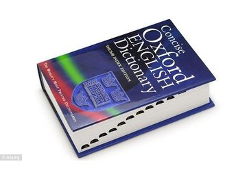 Bok: Paperback Oxford English Dictionary