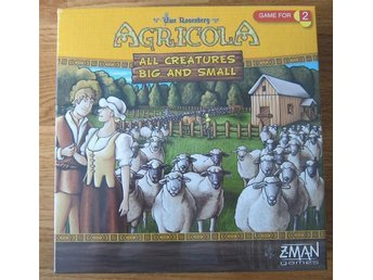 Brädspelet Agricola - All Creatures Big And Small (nytt)