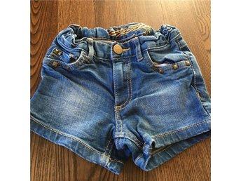 Jeansshorts, kapoahl, st 110 - åsenhöga - Jeansshorts, kapoahl, st 110 - åsenhöga